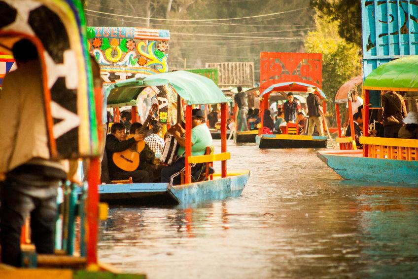 Image Gallery Xochimilco History