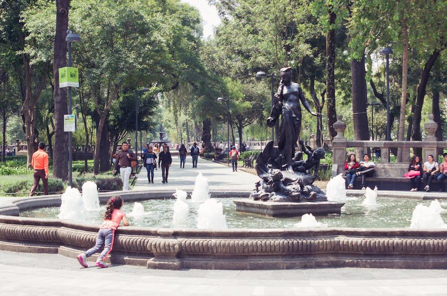 Alameda Central Mexico City