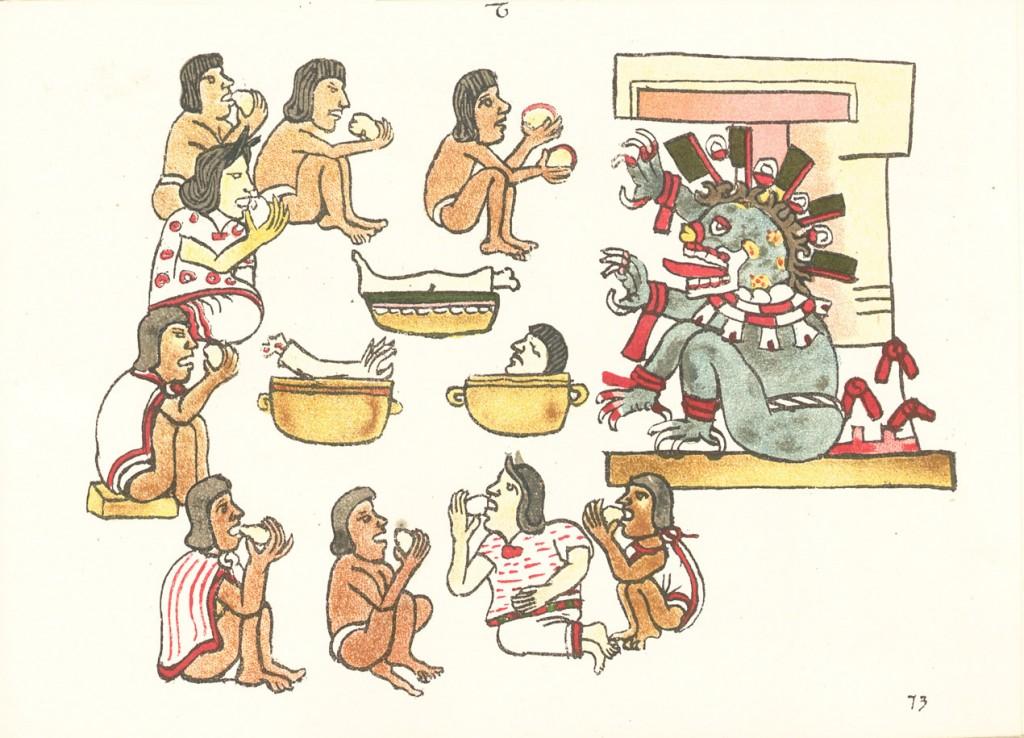 aztecas ceremonia