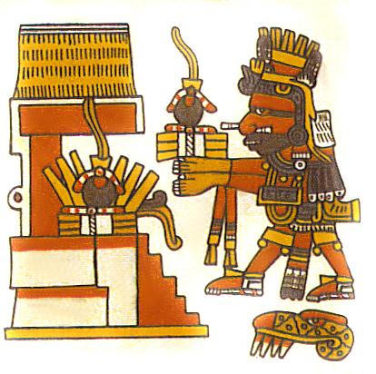 Cinteotl, lord of maíz