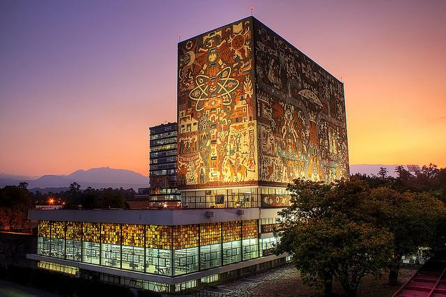 UNAM Library Murals