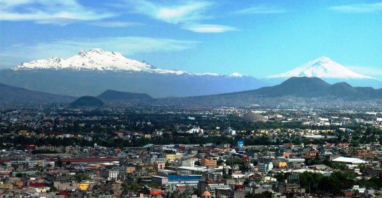 mountains of mexico city