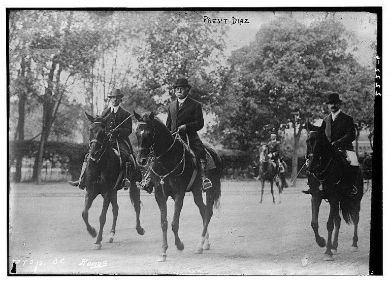 porfirio-diaz-caballo-chapultepec